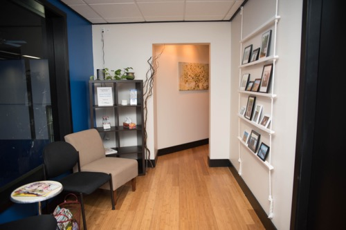 Kelowna Medical Massage Spall location waiting area