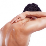 Massage Therapy Kelowna Medical Massage - man with shoulder pain
