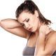 Massage Therapy Kelowna Medical Massage - woman with neck pain from whiplash